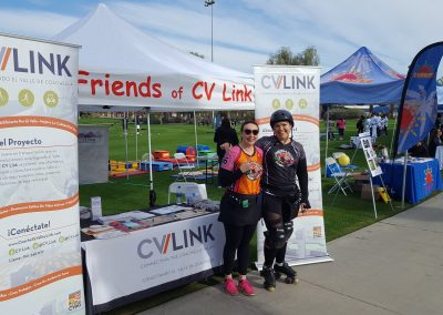 Friends of CV Link Booth